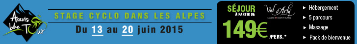 Aravis Bike Tour mai 2015